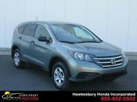Honda CR-V LX 2012 ONE OWNER LOW MILEAGE