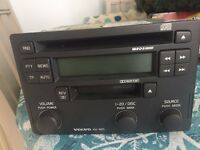 Volvo HU-605 car stereo DVD and Cassette player