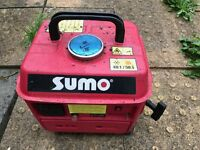 1 plug portable electric generator, been sitting in my shed unused, grab a bargain!