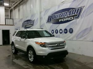 2015 Ford Explorer XLT W/ Leather, Panoramic Roof, Keyless Entry
