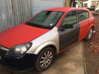 2005/55 vauxhall astra 1.8 petrol 5 doors cheap car