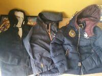 3 boys coats suit age 9