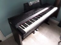 Roland Electric Piano with 88 weighted keys and 5 sounds.