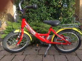 Puky bike for approx 3-6years