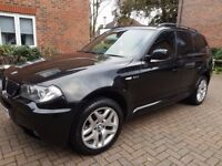 BMW X3 2.0d M Sport, Full Leather, Manual, Diesel, 84 200miles
