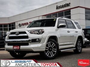 2017 Toyota 4Runner LIMITED 7 PASSENGER ONLY 21040 KMS!!