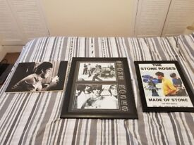 Stone Roses and Oasis Canvas