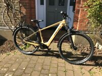 FOR SALE - FOCUS AVENTURA 2 6.6 ELECTRIC HYBRID BIKE - AS NEW