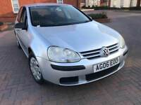 2006 Volkswagen Golf Fsi S 114bhp 1.6 petrol manual 5 doors