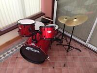 Tiger full size drum kit