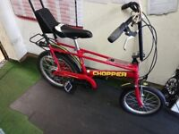 RALEIGH CHOPPER MK 3 NEW PARTS FULLY RESTORED