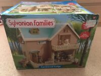 Sylvanian Families Larchwood Lodge - Brand New!!!