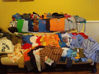 Boys Clothes bundle 5-6, 6-7 & 7-8 years. VGC. Approximately 50 items.