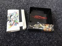 Ed Hardy Purse (off white), Skull RRP £39.95, yours for £14, unused