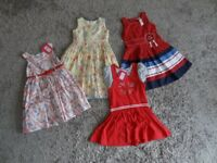 GIRLS DRESSES x 4. AGE 2 - 3 & 3 YEARS.