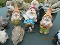 Animal collection and gnomes