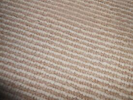 8ft x 8ft4 beige carpet