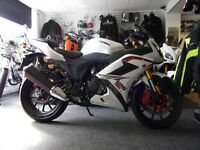 125cc wk 125 RR rare not many about ..