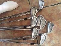 Titliest golf irons £100
