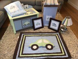 Nursery or boys bedroom set