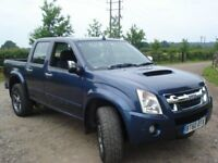ISUZU RODEO 2011 ON A 60 PLATE