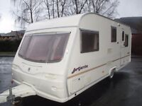 Great Clean family 5 berth end shut off bed room caravan for sale