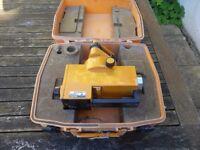 Vintage German carl zeiss jena 020a Theodolite/Site level.