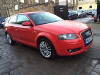 2008 (57) AUDI A3 2.0 DIESEL TDI SE - 6 SPEED - 3 DOOR - LOW MILEAGE - NEW MOT