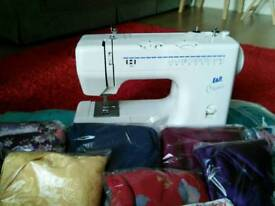 Sewing machine and accessories