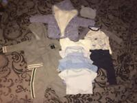 0-3 Boy Clothes Bundle smoke & pet free home