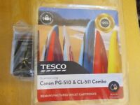 canon PG-510 and CL-511 type ink cartridges
