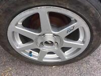 """TSW EVO alloy wheels ford 4x108 15"""""""