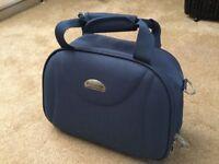 New Revelation blue vanity Bag