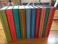 A Series of Unfortunate Events by Lemony Snicket - 11 hardback books