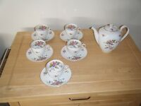 Franconia Coffee Set