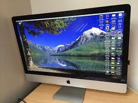 "Apple iMac 27"" £650 ONO! Computor Macbook (with softwares microsoft office/final cut etc."