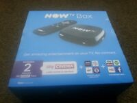 Now TV Box boxed (used) fully working in excellent condition with all leads (no pass)