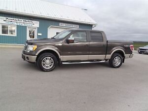 2009 Ford F-150 KING RANCH,CREW,4X4,LEATHER,ONLY 155 KM!!
