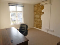 Office to rent in Uppingham: sunny, air conditioned, all inclusive low monthly rent