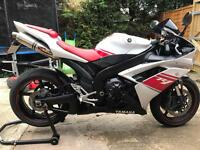 Yamaha R1 4C8 2008 in Red and white, 1 year Mot, Hpi Clear, Warranted Miles, Free Delivery