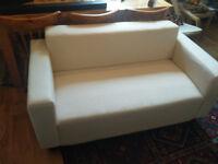 Sofa - 2 Seater Ikea White sofa - Excellent condition