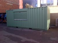 20ft Container Converted