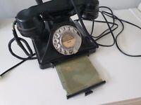 Vintage Bakerlite Telephone