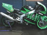 KAWASAKI ZX6R 1997 TRACK BIKE FOR SALE £875ono