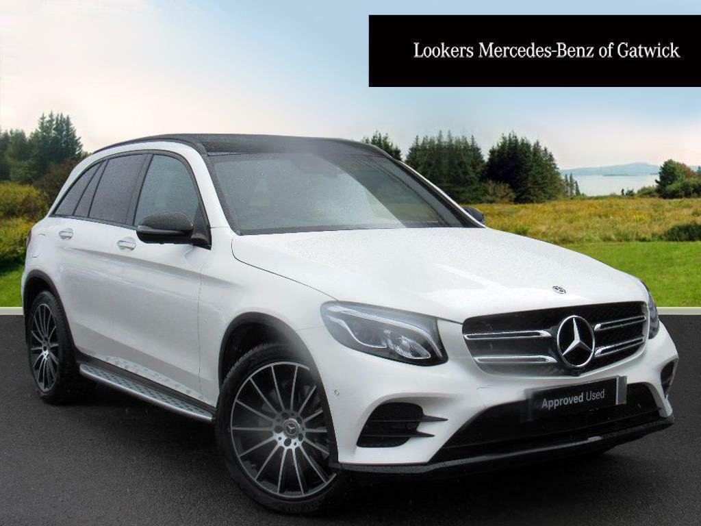 mercedes benz glc class glc 220 d 4matic amg line premium plus white 2018 03 02 in crawley. Black Bedroom Furniture Sets. Home Design Ideas