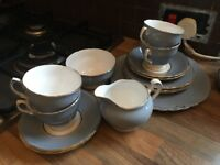 Complete set colclough fine china tea-set vgc