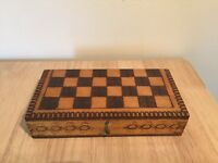 Complete chess set in attractive box