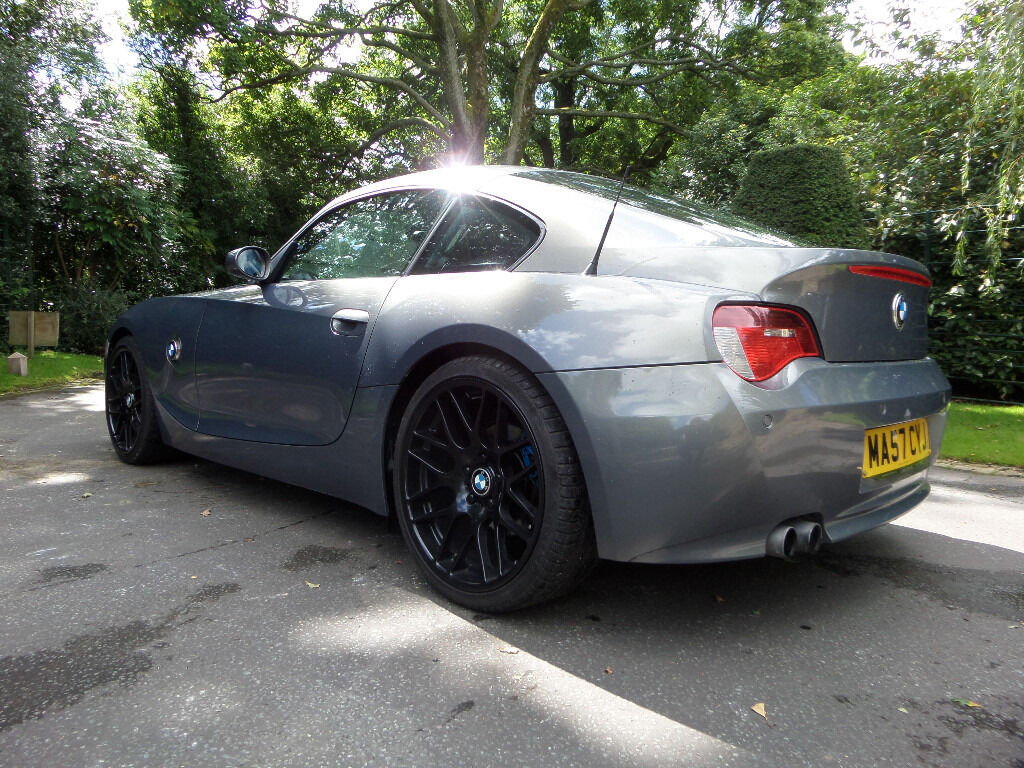 Bmw Z4 3 0 Si Coupe 265bhp Grey 2007 57 M Sport Replica