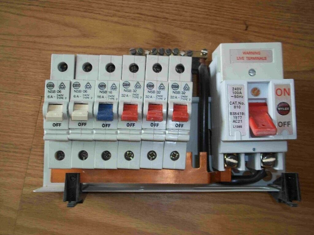 Wylex Fuse Box Wiring Library Emergency Lighting Diagram Diynotcom Diy And Home Improvement Consumer Unit Used