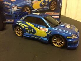 Remote control model car / Subaru Impreza 1:32 scale / car